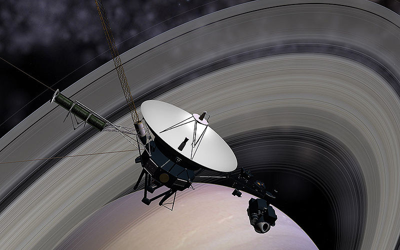 Voyager 1 – Gas Giants and a Last Look Homeward